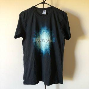 Evanescence 2012 Tour Band T-Shirt Size Medium